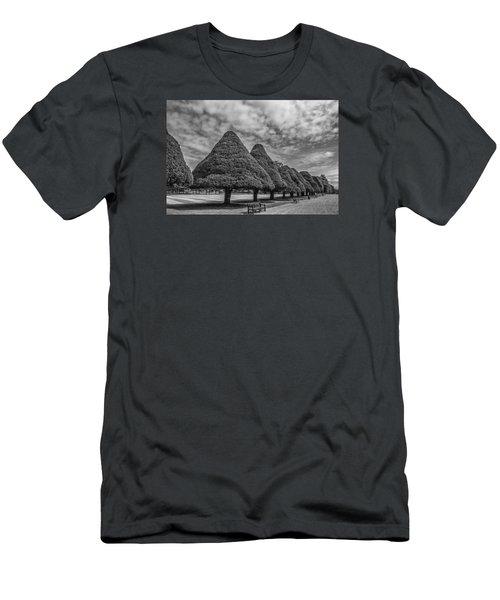 Hampton Palace Gardens Men's T-Shirt (Slim Fit) by Elvira Butler