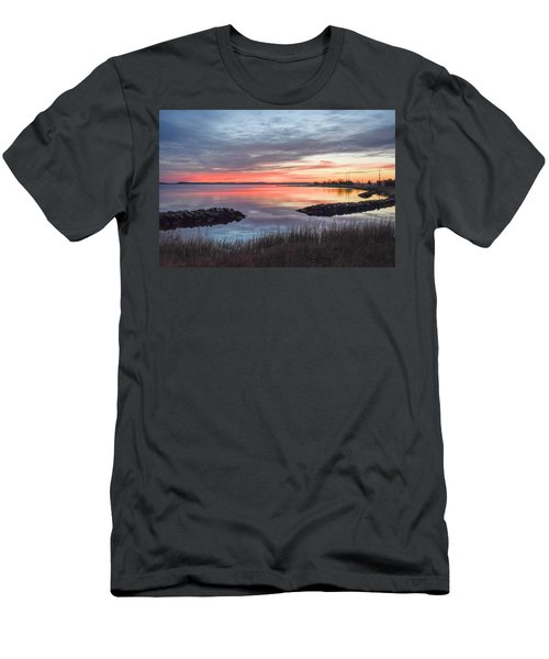 Hampton Sunrise Men's T-Shirt (Athletic Fit)