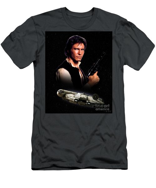 Han Solo Men's T-Shirt (Athletic Fit)