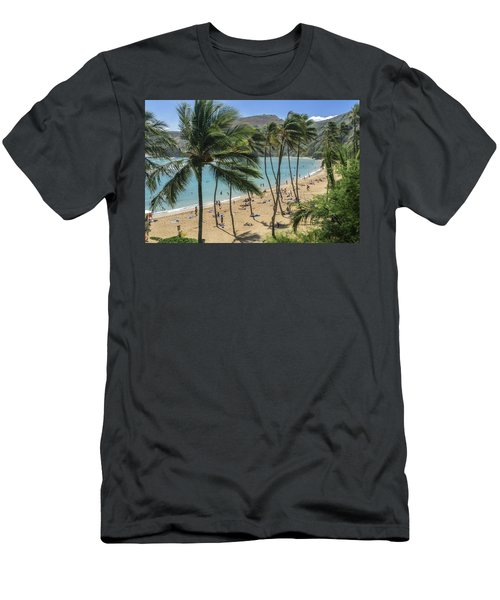 Men's T-Shirt (Athletic Fit) featuring the photograph Hanauma Bay by Steven Sparks