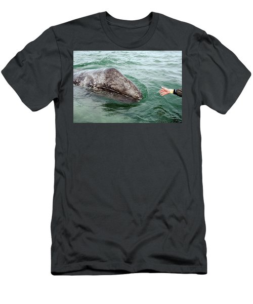 Hand Across The Waters Men's T-Shirt (Athletic Fit)