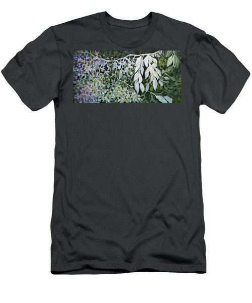 Silver Spendor Men's T-Shirt (Slim Fit) by Joanne Smoley