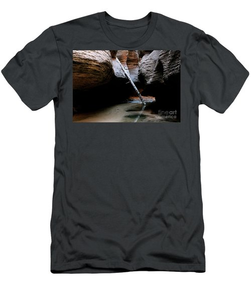 Hanging By A Moment Men's T-Shirt (Athletic Fit)