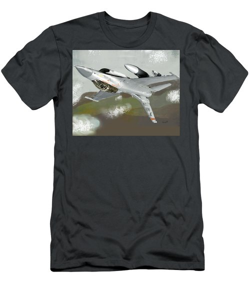 Hanging In The Seat Men's T-Shirt (Athletic Fit)