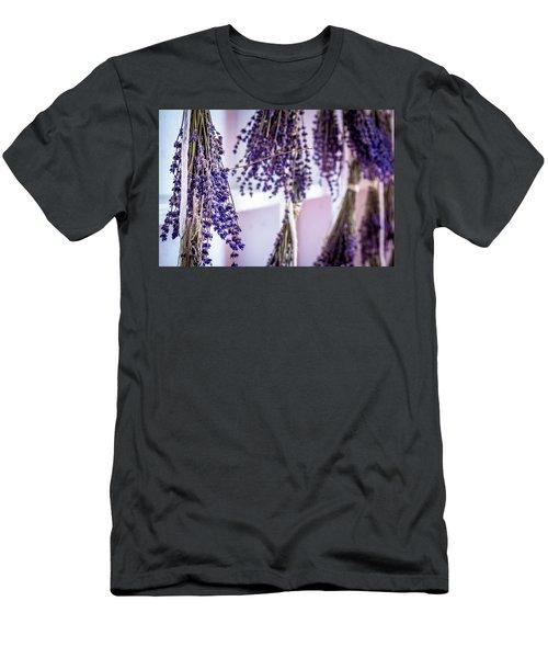 Hanging Lavender Men's T-Shirt (Athletic Fit)