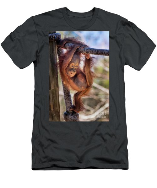 Hanging Out Men's T-Shirt (Athletic Fit)