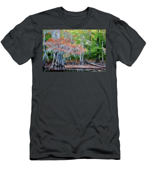 Hanging Rust Men's T-Shirt (Slim Fit) by Lana Trussell