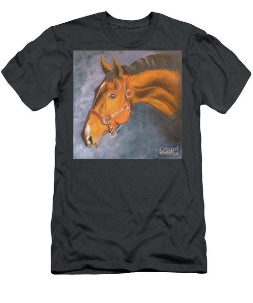 Hanoverian Warmblood Sport Horse Men's T-Shirt (Athletic Fit)