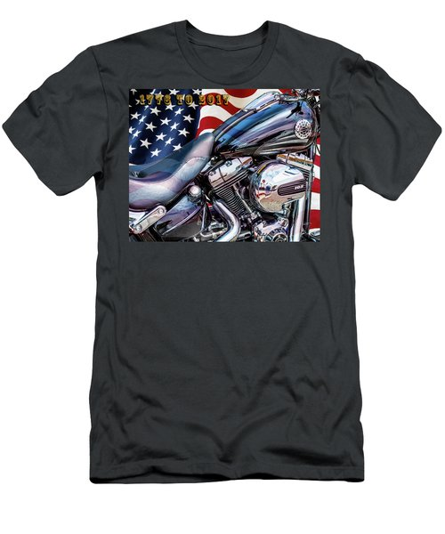 Happy Birthday America Men's T-Shirt (Athletic Fit)