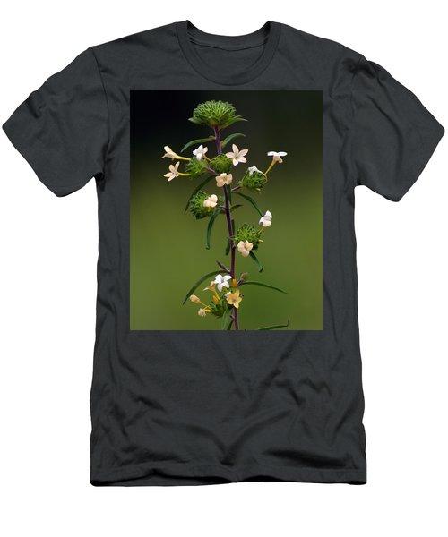 Happy Flowers Men's T-Shirt (Athletic Fit)