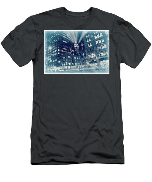 Happy Holidays From New York City Men's T-Shirt (Athletic Fit)