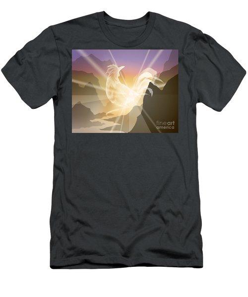 Harbinger Of Light Men's T-Shirt (Athletic Fit)
