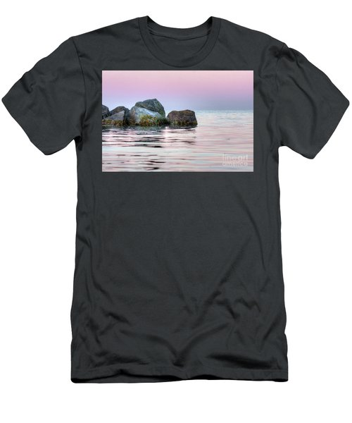 Harbor Breakwater Men's T-Shirt (Athletic Fit)