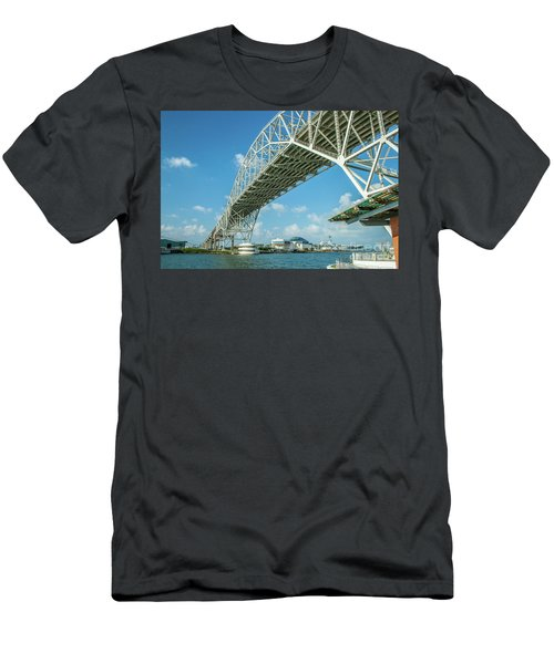 Harbor Bridge Men's T-Shirt (Athletic Fit)