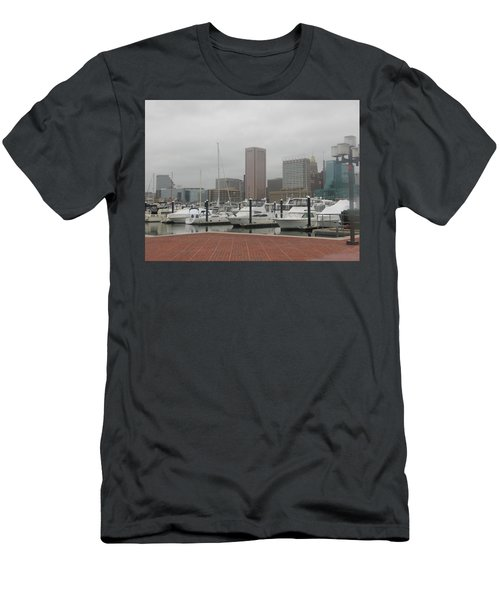 Harbor Happiness Men's T-Shirt (Athletic Fit)