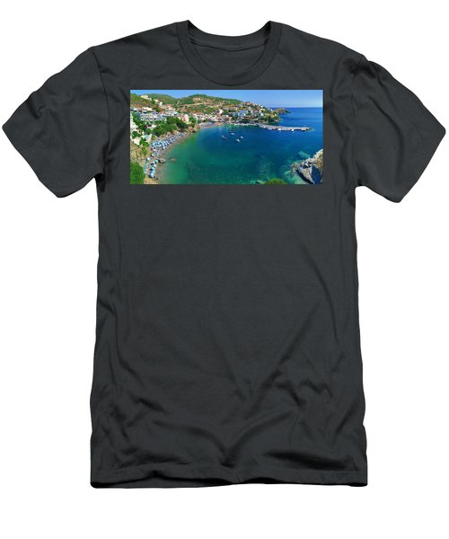 Harbor Of Bali Men's T-Shirt (Athletic Fit)