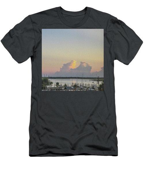 Harbor The Evening Men's T-Shirt (Athletic Fit)