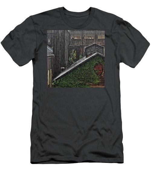 Hard Rain Men's T-Shirt (Athletic Fit)