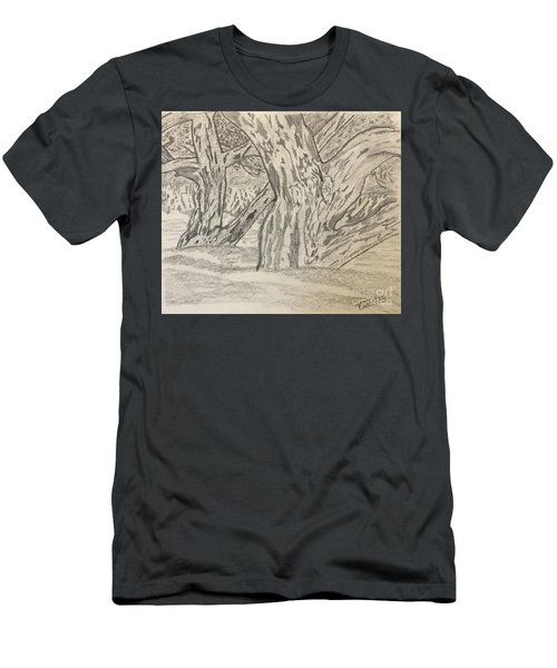 Hardwoods Men's T-Shirt (Athletic Fit)