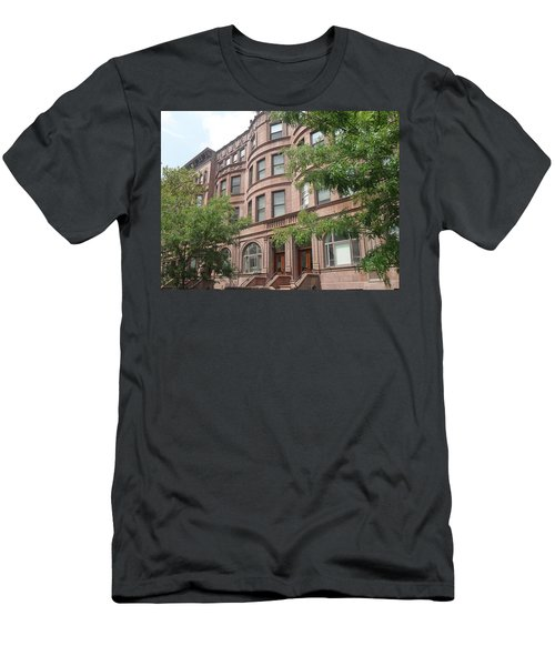 Harlem Brownstones Men's T-Shirt (Athletic Fit)