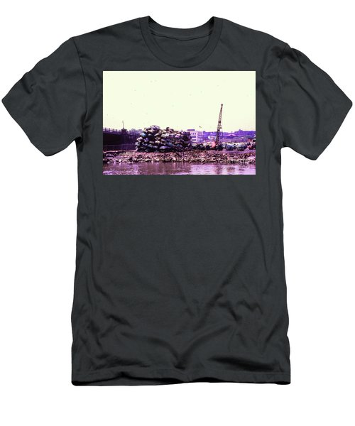 Harlem River Junkyard Men's T-Shirt (Slim Fit) by Cole Thompson