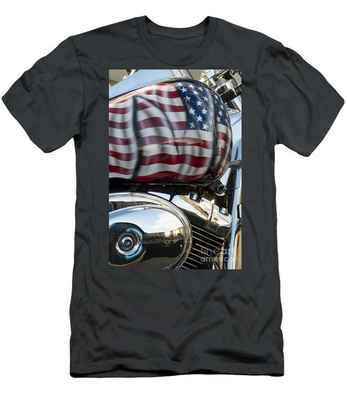 Harley Davidson 7 Men's T-Shirt (Athletic Fit)