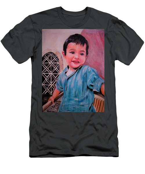 Harmain Men's T-Shirt (Slim Fit) by Khalid Saeed