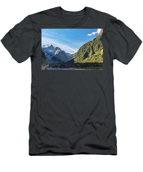 Men's T-Shirt (Athletic Fit) featuring the photograph Harrison Cove Sunlight by Gary Eason