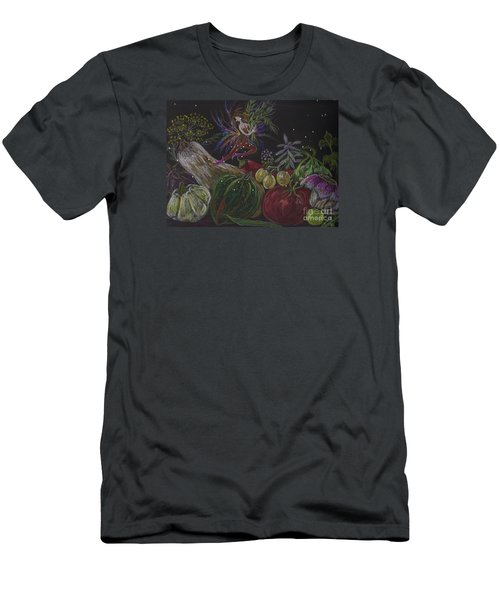 Harvest Men's T-Shirt (Slim Fit) by Dawn Fairies