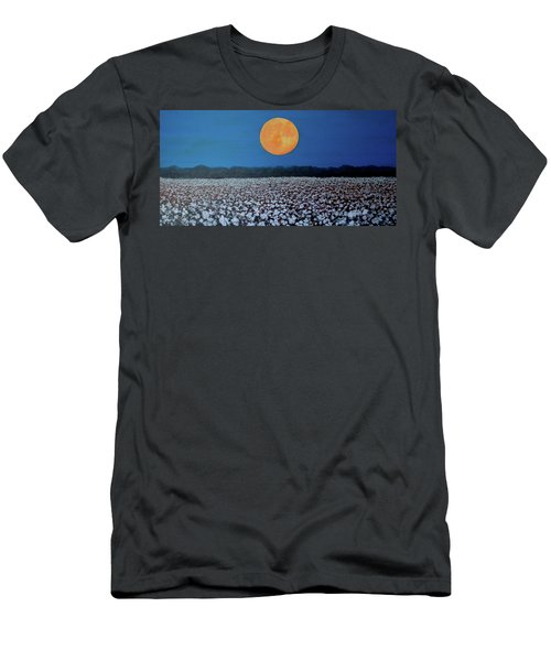 Harvest Moon Men's T-Shirt (Slim Fit) by Jeanette Jarmon
