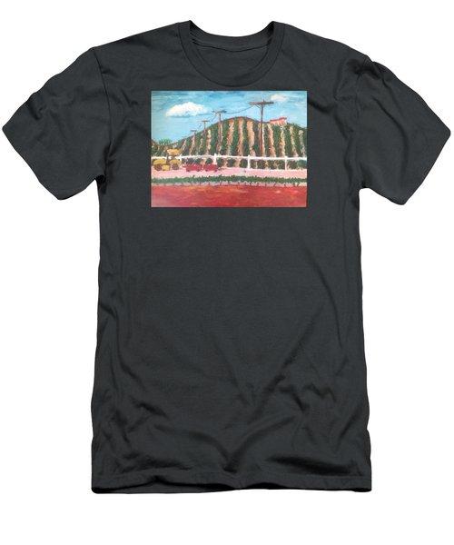 Harvest Season Temecula Men's T-Shirt (Slim Fit) by Roxy Rich