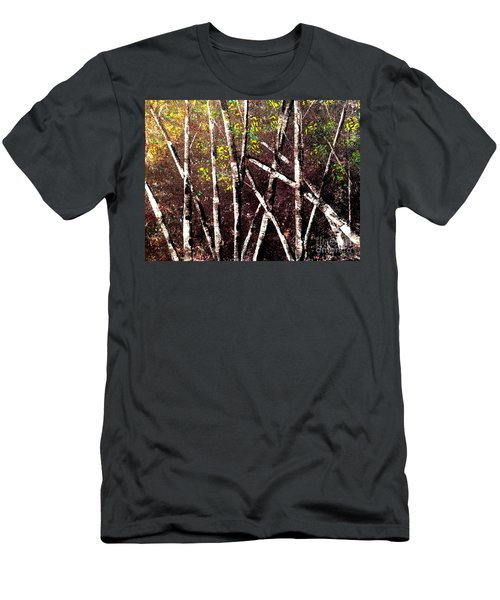 Haunted Birches Men's T-Shirt (Athletic Fit)