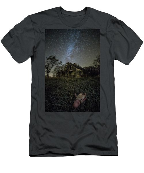 Men's T-Shirt (Slim Fit) featuring the photograph Haunted Memories by Aaron J Groen