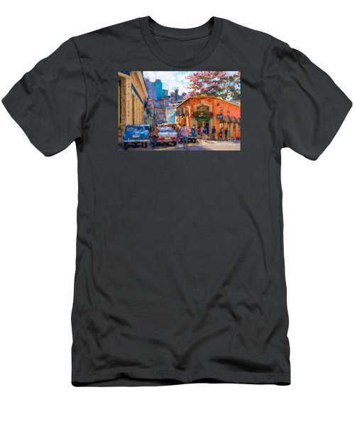 Havana In Bloom Men's T-Shirt (Slim Fit) by Les Palenik