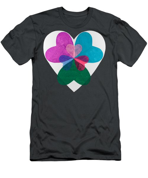 Have A Heart Men's T-Shirt (Athletic Fit)
