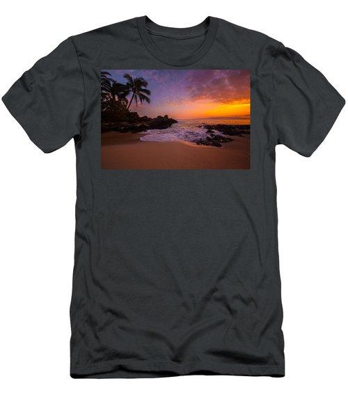 Hawaian Paradise Men's T-Shirt (Athletic Fit)