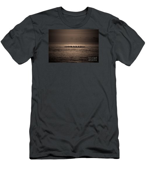 Hawaiian Outrigger Men's T-Shirt (Athletic Fit)