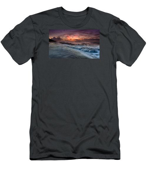 Hawaiian Sunrise Men's T-Shirt (Athletic Fit)