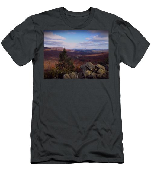 Hawk Mountain Sanctuary Men's T-Shirt (Athletic Fit)