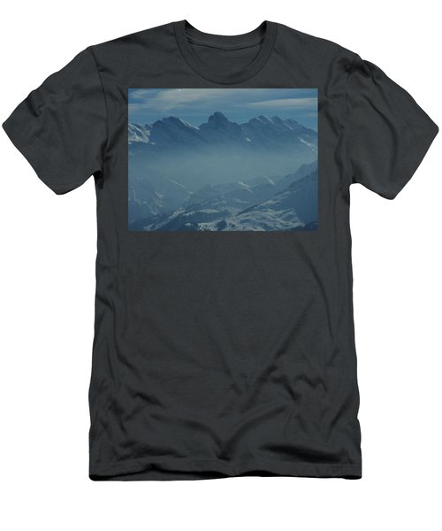 Haze In The Valley Men's T-Shirt (Athletic Fit)
