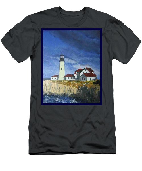 Head Lighthouse  Men's T-Shirt (Athletic Fit)