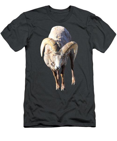 Head-on Men's T-Shirt (Slim Fit) by Shane Bechler
