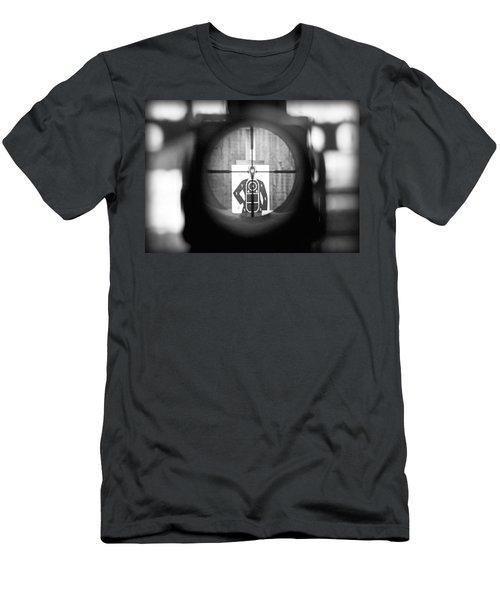 Head Shot Men's T-Shirt (Athletic Fit)