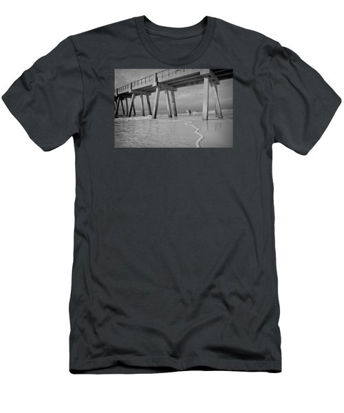 Men's T-Shirt (Slim Fit) featuring the photograph Headed Out by Renee Hardison