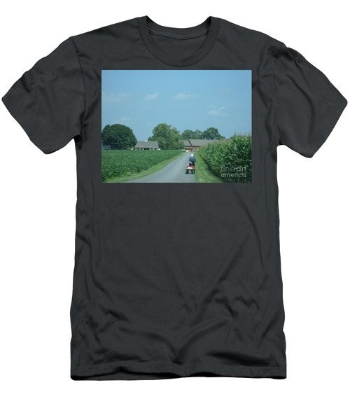 Heading Home From The Market Men's T-Shirt (Athletic Fit)