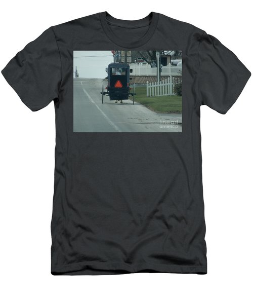 Heading Home From The Store Men's T-Shirt (Athletic Fit)