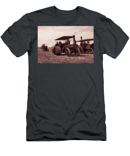 Heading Out Antiqued Men's T-Shirt (Athletic Fit)