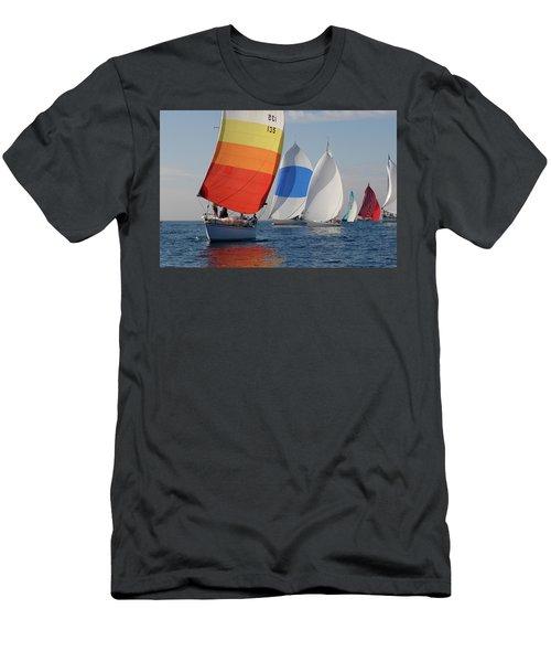 Heading Towind Windward Mark Men's T-Shirt (Athletic Fit)