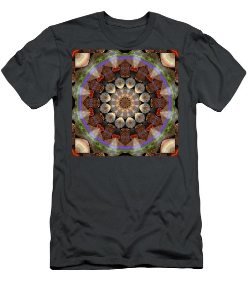Healing Mandala 30 Men's T-Shirt (Athletic Fit)