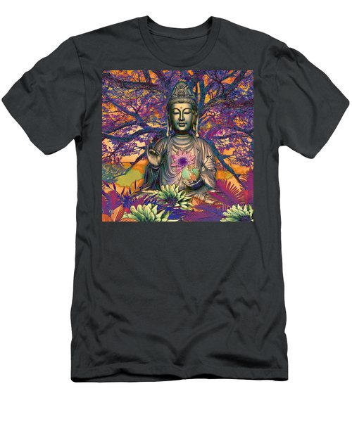 Healing Nature Men's T-Shirt (Athletic Fit)
